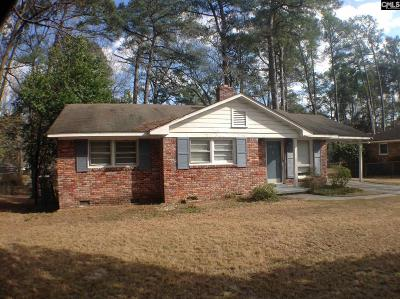 Columbia Single Family Home For Sale: 2618 Parkwood Drive