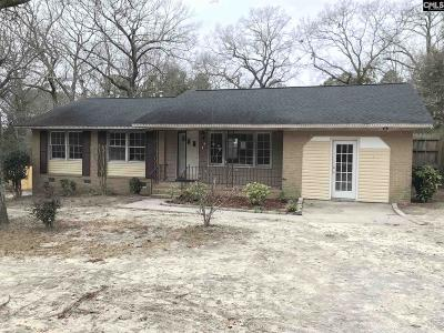 Columbia SC Single Family Home For Sale: $41,500