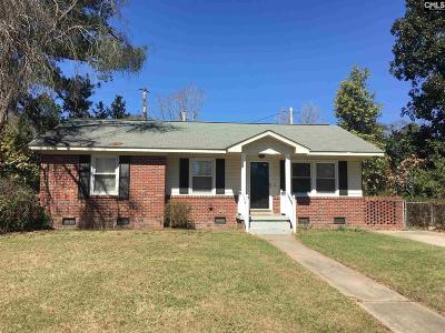 Columbia Single Family Home For Sale: 3611 Live Oak St