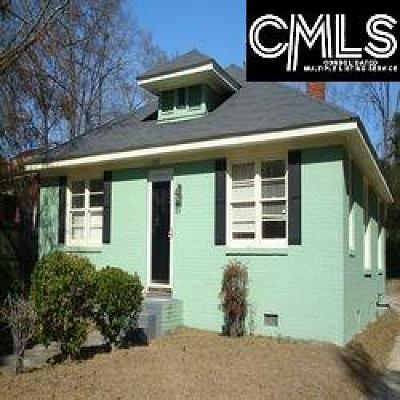 Columbia Single Family Home For Sale: 1509 Charlton