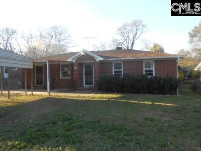 Cayce Single Family Home For Sale: 1024 Sunnyside