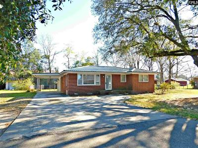 Batesburg SC Single Family Home For Sale: $82,500