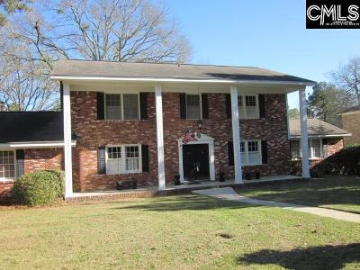 Columbia Single Family Home For Sale: 3604 Greenway