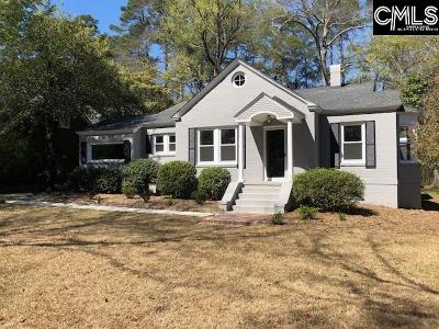 Single Family Home For Sale: 4033 Trenholm