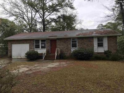 Blythewood Single Family Home For Sale: 26 Ralph