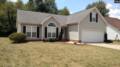Columbia Single Family Home For Sale: 160 Caughman Ridge
