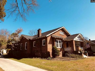 Calhoun County, Fairfield County, Kershaw County, Lexington County, Richland County Single Family Home For Sale: 1005 Jackson Ave