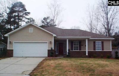 Irmo SC Single Family Home For Sale: $140,000