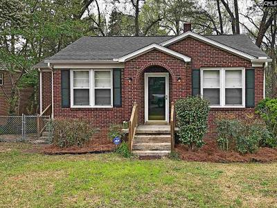 Columbia SC Single Family Home For Sale: $105,900