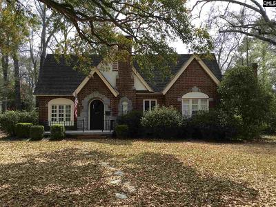 Kershaw County Single Family Home For Sale: 417 Hampton