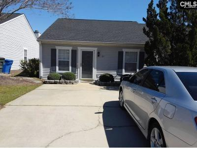Columbia SC Single Family Home For Sale: $83,000