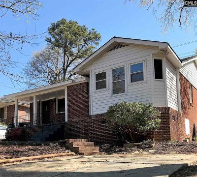 Columbia SC Single Family Home For Sale: $101,900