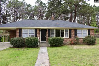 Columbia SC Single Family Home For Sale: $106,500