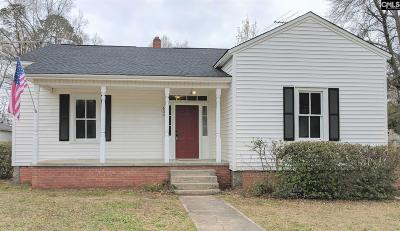 Batesburg SC Single Family Home For Sale: $92,000