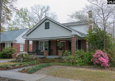 Columbia SC Single Family Home For Sale: $359,000