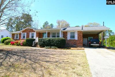 Columbia SC Single Family Home For Sale: $209,500