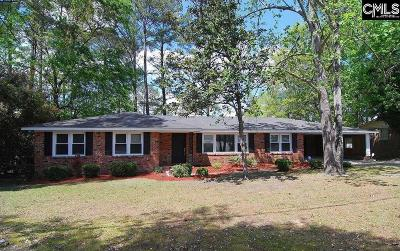 Forest Acres Single Family Home For Sale: 6917 Brookfield