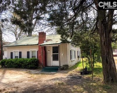 Batesburg Single Family Home For Sale: 330 W Railroad