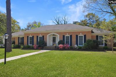 Forest Acres Single Family Home For Sale: 4814 Oakhill