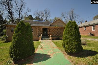 Newberry Single Family Home For Sale: 824 Drayton