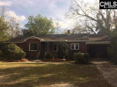 Lexington County, Richland County Single Family Home For Sale: 7531 Bluff