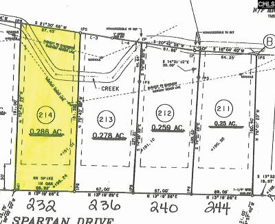 Lexington County, Richland County Residential Lots & Land For Sale: 232 Spartan