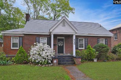 Columbia Single Family Home Contingent Sale-Closing: 220 Sloan