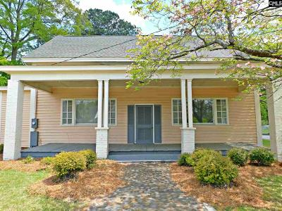 Batesburg Single Family Home For Sale: 114 N Pine