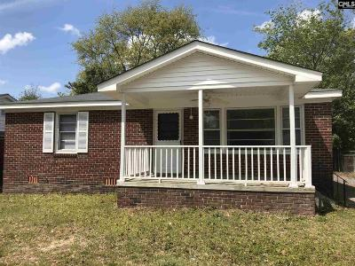 Columbia SC Single Family Home For Sale: $99,000