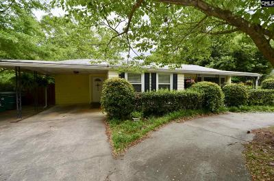 Forest Acres Single Family Home For Sale: 1920 Edgehill