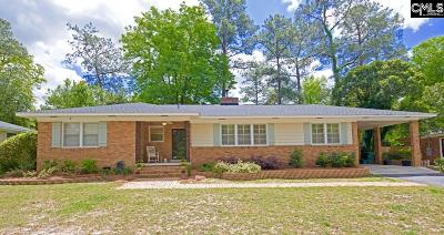 Forest Acres Single Family Home For Sale: 4664 Oakwood