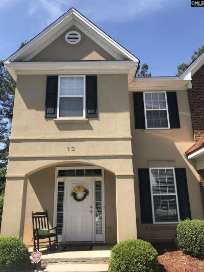 Lexington County Townhouse For Sale: 12 Crossbow