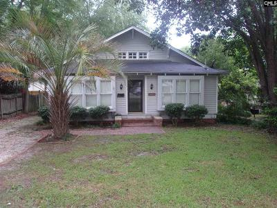 Camden Single Family Home For Sale: 1603 Broad