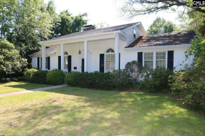 Kershaw County Single Family Home For Sale: 1707 Fair