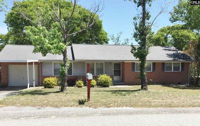 Columbia SC Single Family Home For Sale: $88,000