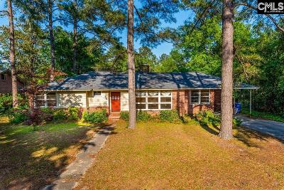 Forest Acres Single Family Home For Sale: 3014 Chinaberry
