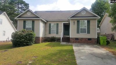 Columbia SC Single Family Home For Sale: $95,000