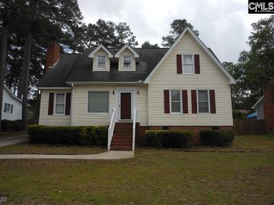 West Columbia Single Family Home For Sale: 122 Savannah Woods