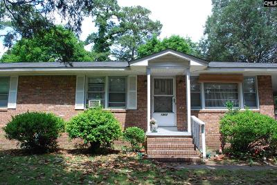 Columbia SC Single Family Home For Sale: $55,000