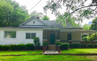 Newberry Single Family Home For Sale: 1218 Hunt