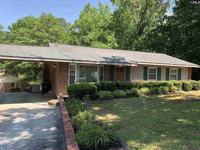 West Columbia Single Family Home For Sale: 1747 Holly Hill