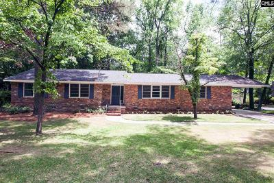 Forest Acres Single Family Home For Sale: 4662 Crystal