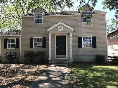 Lexington County, Richland County Single Family Home For Sale: 823 Holland
