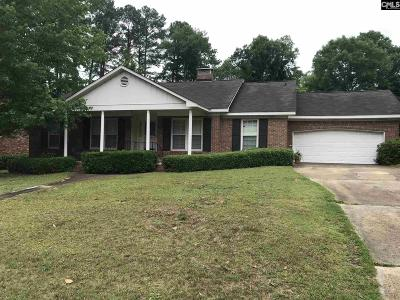 Columbia SC Single Family Home For Sale: $154,500