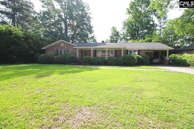 Columbia Single Family Home For Sale: 1634 Shady