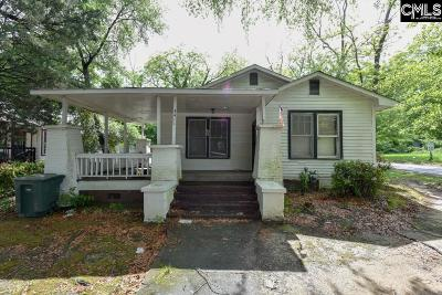 Columbia Single Family Home For Sale: 3411 Colonial