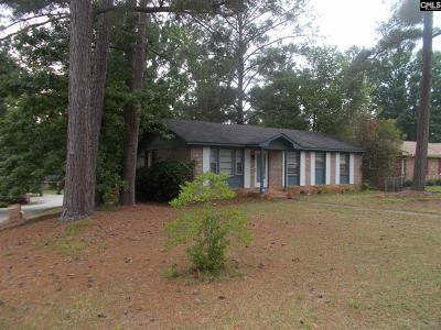 Columbia SC Single Family Home For Sale: $84,000