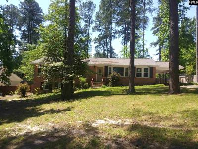 Forest Acres Single Family Home For Sale: 3508 Foxhall
