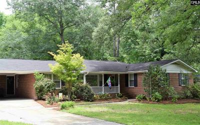 Forest Acres Single Family Home For Sale: 3619 Deerfield