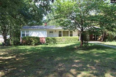 West Columbia Single Family Home For Sale: 1409 Redwood